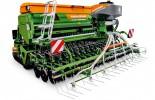 A Cataya 4000 Super opcionálisan felszerelhető a GreenDrill ráépített köztestermény-vetőgéppel.