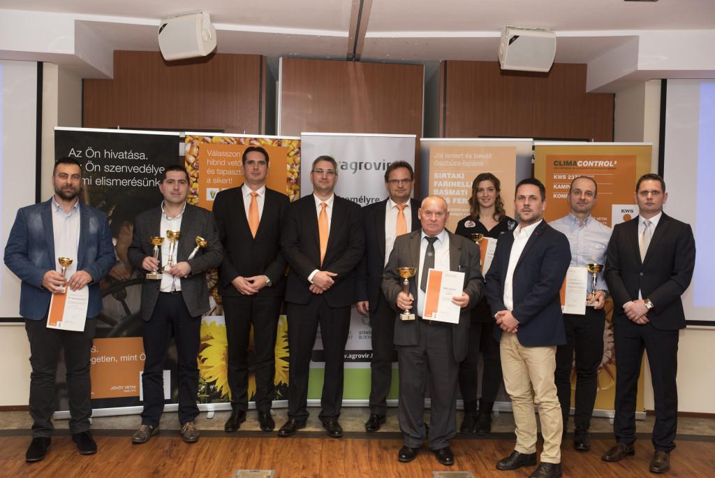 A kelet-magyarországi díjazottak