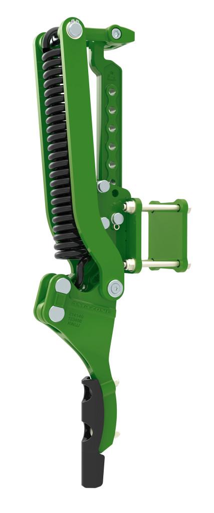 Más megoldásként a mellső gerendely keréknyomlazítóval is felszerelhető