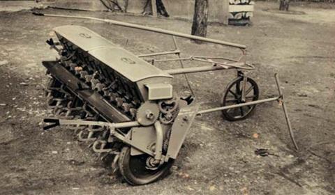 D1 sorvető gép, 2 m munkaszélesség, 1947