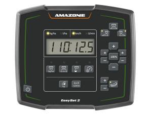 Az új EasySet 2 kezelőszámítógép egyszerű menüvezetéssel.