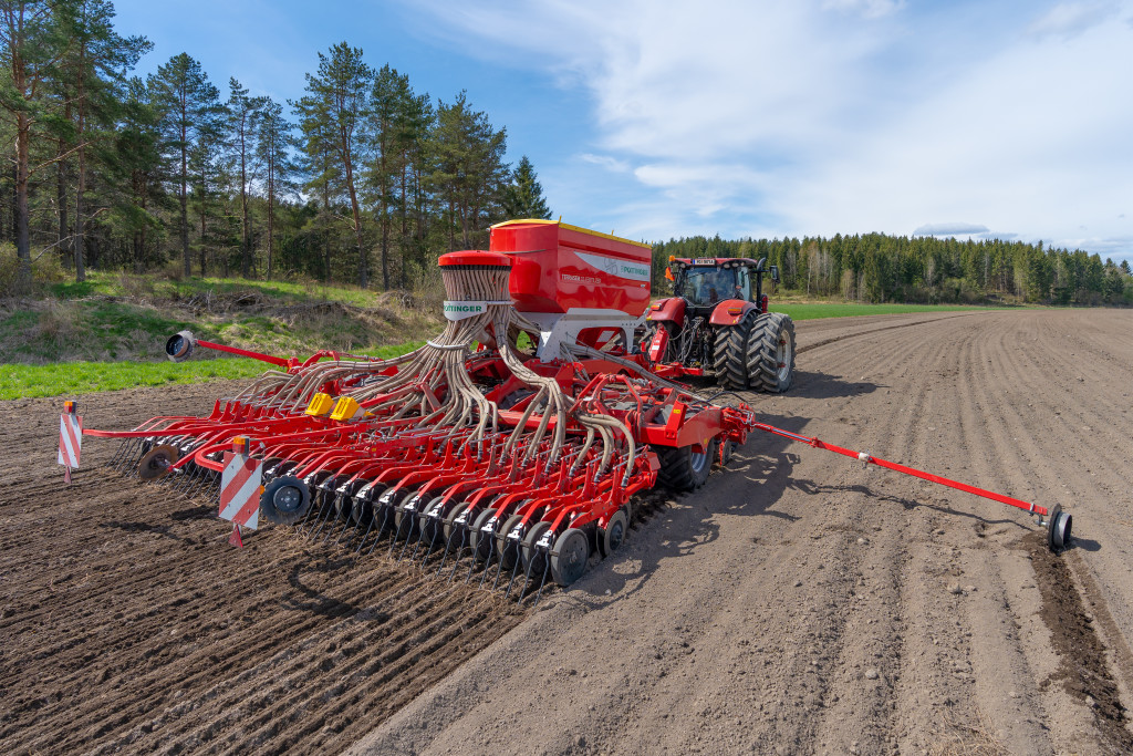The new TERRASEM CLASSIC impresses with precise seed placement