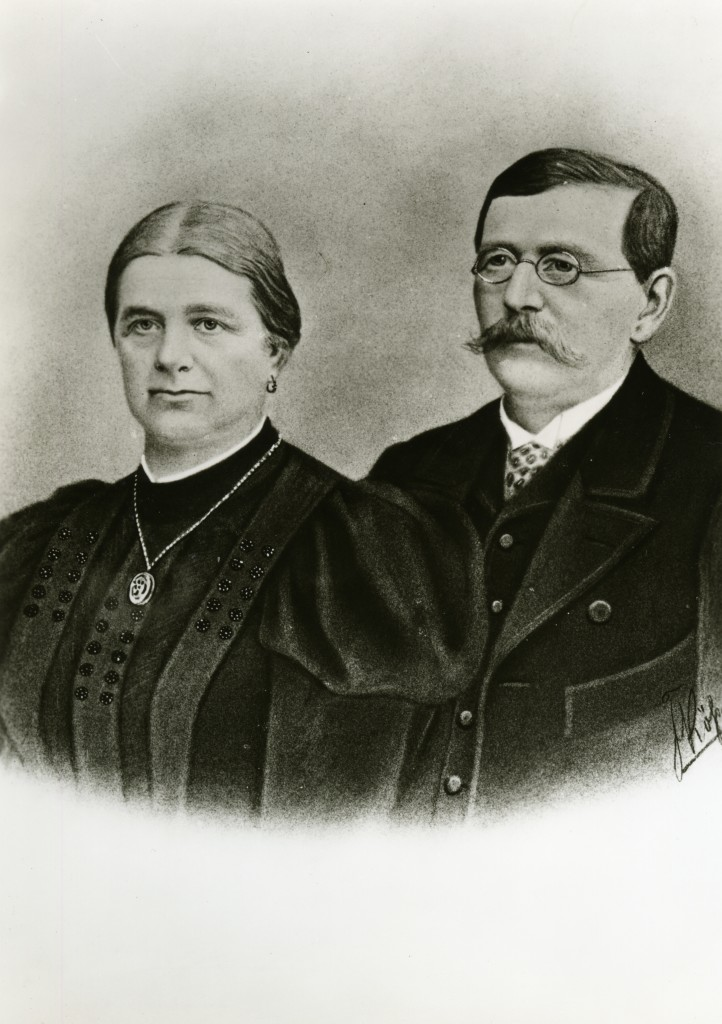 Founder Franz Pöttinger with his wife Juliane