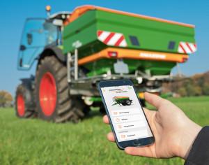 A mySpreader-alkalmazással mobil módon és optimálisan tud tanácsot kapni a szántóföldön.